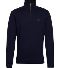 clinton half zip sweatshirt sweat-shirt trui blauw les deux