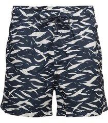 mason swim shorts aop 6956 badshorts blå samsøe samsøe