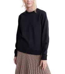 superdry organic cotton standard label sweatshirt