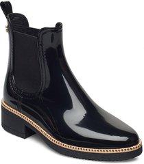ava 01 shoes chelsea boots svart lemon jelly