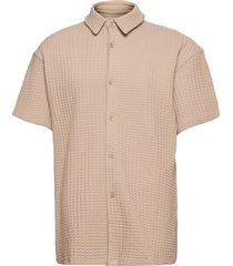 akoko shirt 11602 polos short-sleeved brun samsøe samsøe