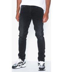 dr denim clark jeans svart/grå