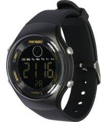 relógio digital mormaii mo0600 - masculino - preto