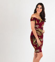 vestidos vinotinto derek 818503