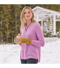 simple days cashmere pullover - petites