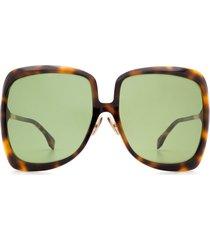 fendi fendi ff 0429/s dark havana sunglasses