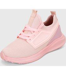tenis lifestyle rosado runner athletic