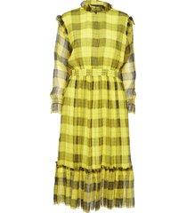 archie dress knälång klänning gul designers, remix