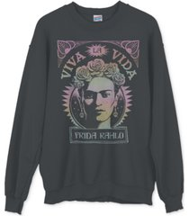 junk food frida kahlo graphic sweatshirt