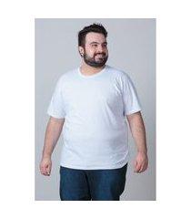 camiseta básica masculina plus size branco camiseta básica masculina plus size branco p kaue plus size