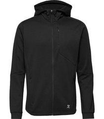 hmltropper zip hoodie hoodie trui zwart hummel