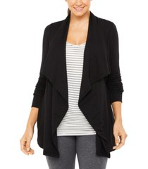 a pea in the pod maternity draped cardigan
