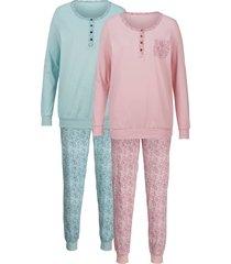 pyjama harmony rozenhout/jade