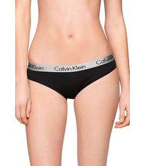 calzón bikini josefina negro calvin klein
