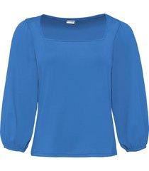 maglia con scollo quadrato (blu) - bodyflirt