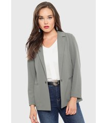 blazer ash verde - calce regular