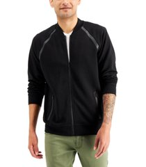 inc men's knit track jacket, created for macy's