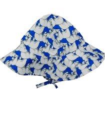 chapéu ecokids place urso polar azul