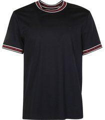 michael kors logo trimmed t-shirt