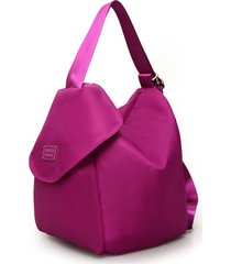 sacchetto di zaino impermeabile della borsa a tracolla chiara di nylon delle donne