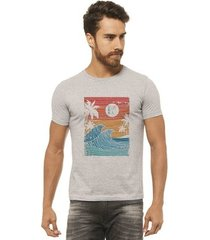 camiseta joss estampada - wave - masculina