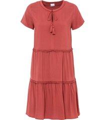 abito in viscosa sostenibile (rosso) - bodyflirt