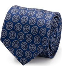 marvel captain america shield men's tie