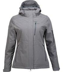 chaqueta andes b-dry gris medio lippi