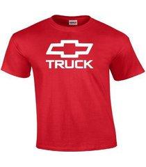 new chevy truck chevrolet bowtie vintage logo t-shirt gm classic gildan t shirt