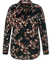 blouse 100% katoen van anna aura zwart