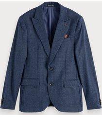 scotch & soda lightweight wool blend blazer