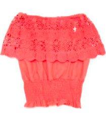 blusa coral mapamondo
