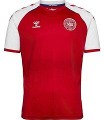 dbu 20/21 home jersey s/s t-shirts football shirts röd hummel