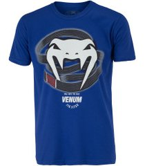camiseta venum graduado - masculina - azul