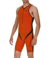 macaquinho arena para triathlon trisuit carbon pro front zipper masculino