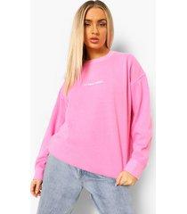 oversized gebleekte kerst sweaters, bright pink
