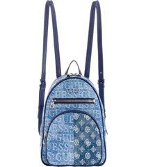mochila new vibe backpack den denim guess