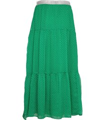 bonny skirt knälång kjol grön lollys laundry