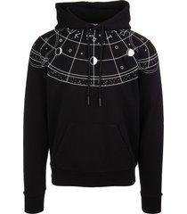 man astral black hoodie marcelo burlon