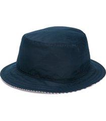 thom browne reversible classic bucket hat - blue