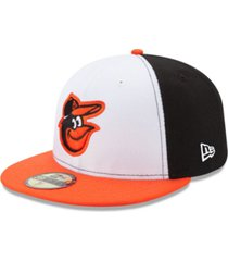 new era kids' baltimore orioles authentic collection 59fifty cap