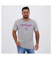 camiseta nba detroit pistons sunset city cinza mescla