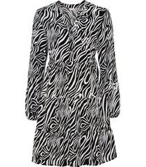 mönstrad tunikaklänning