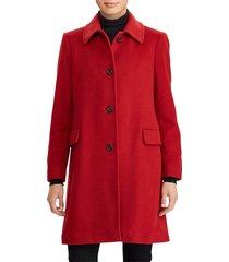 women's lauren ralph lauren cashmere & wool walking coat