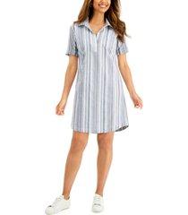 karen scott cotton seersucker dress, created for macy's