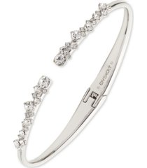givenchy crystal stone cuff bracelet
