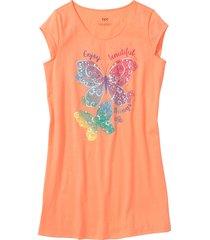 camicia da notte (arancione) - bpc bonprix collection