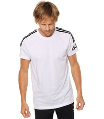 remera  blanca adidas originals  m crew t shirt