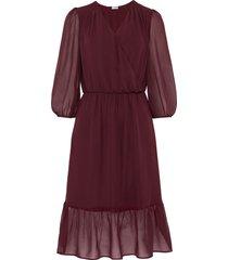 abito in chiffon (rosso) - bodyflirt