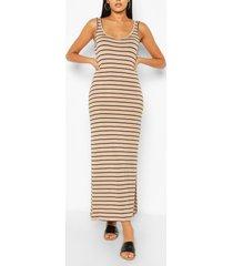 striped maxi dress, ecru